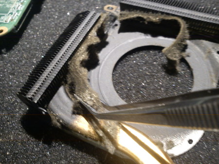 overheating laptop - cleaning